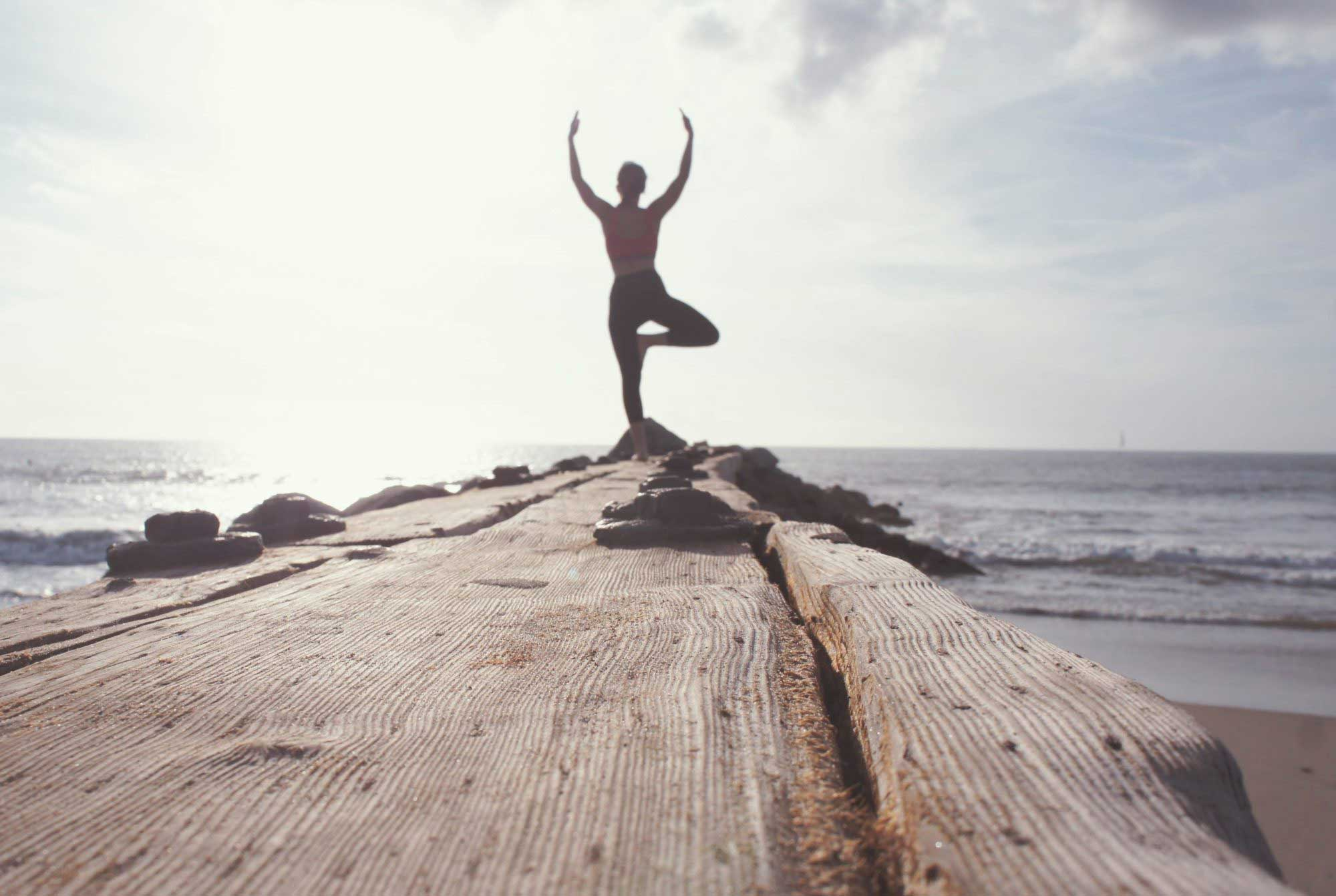 yoga tree pose, 10 Universal Truths of Health Action