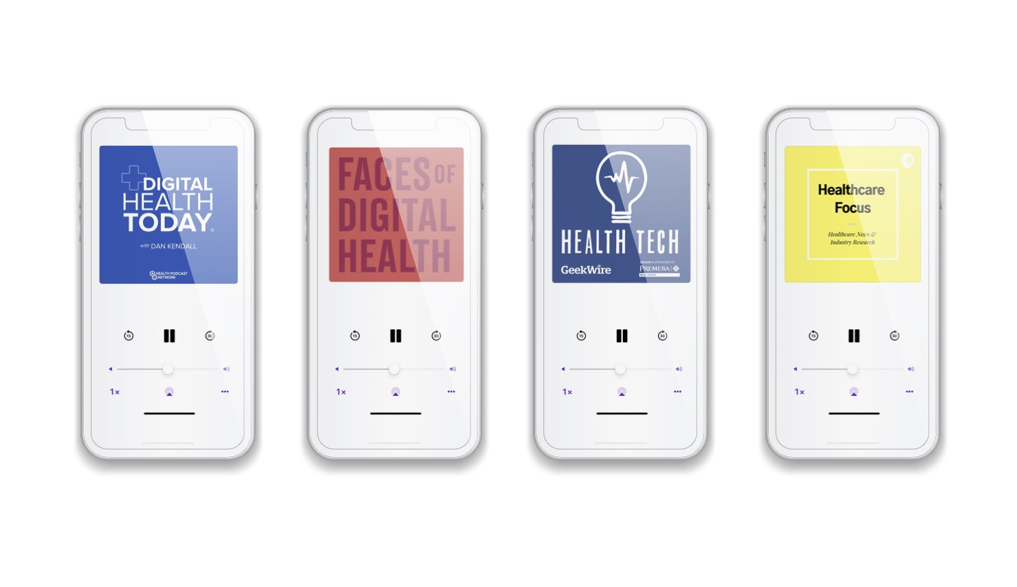 Healthcare podcasts faces of digital health geekwire focus
