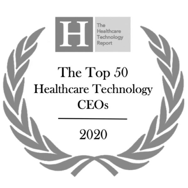 The Top 50 Healthcare Technology CEOs 2020 Logo